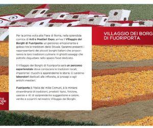 Locandina: Villaggio dei Borghi di Fuoriporta