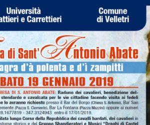 Locandina: Festa di Sant'Antonio Abate e sagra della polenta e dei zampitti