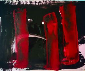 Locandina: Alberto Parres, Il Rosso e il Nero
