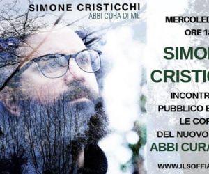 Locandina: Simone Cristicchi incontra il pubblico