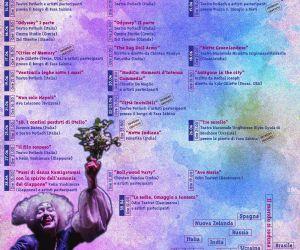 Locandina: XIX edizione del FLIPT – Festival Laboratorio Interculturale di Pratiche Teatrali