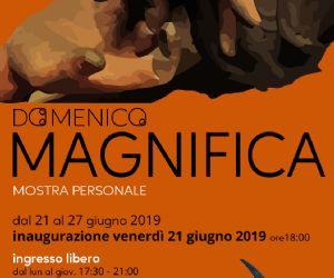 Locandina: Mostra Personale Domenico Magnifica