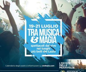 Locandina: L'Estate delle Meraviglie, tra musica e magia