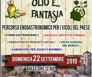 Locandina: Ciambelline, olio e... fantasia