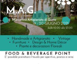 Locandina: M.A.G. Mercatino Artigianato di Gusto